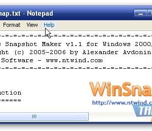 WinSnap Ekran Görüntüleri - 1