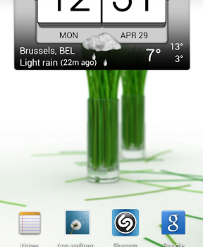 3D flip clock & world weather Ekran Görüntüleri - 1