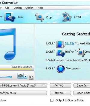 Bigasoft Audio Converter Ekran Görüntüleri - 1