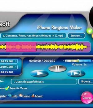 Bigasoft iPhone Ringtone Maker for Mac Ekran Görüntüleri - 1