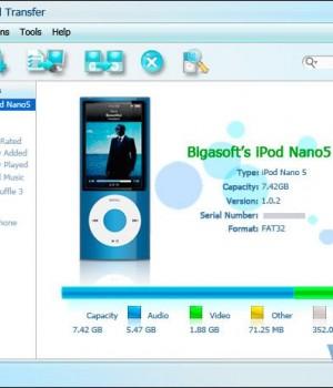 Bigasoft iPod Transfer Ekran Görüntüleri - 1