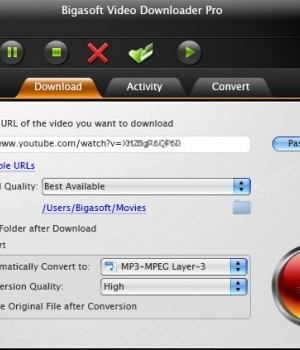 Bigasoft Video Downloader Pro for Mac Ekran Görüntüleri - 1