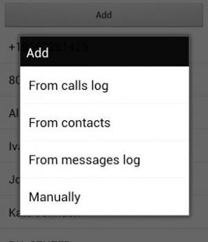 Calls Blacklist Ekran Görüntüleri - 2
