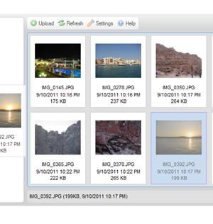 CKFinder for ASP Ekran Görüntüleri - 2