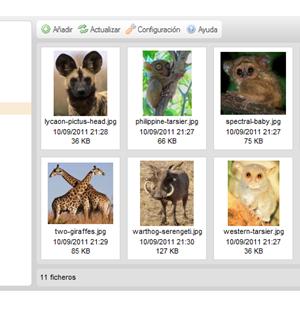 CKFinder for ASP Ekran Görüntüleri - 1