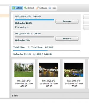 CKFinder for ASP Ekran Görüntüleri - 4