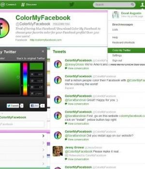 Internet Explorer İçin Color My Twitter Ekran Görüntüleri - 1