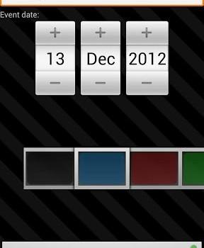 Countdown Widget Ekran Görüntüleri - 6