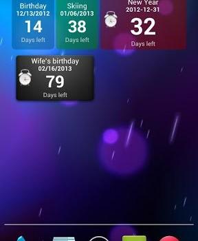 Countdown Widget Ekran Görüntüleri - 5