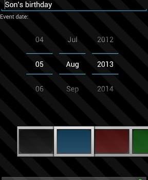 Countdown Widget Ekran Görüntüleri - 2