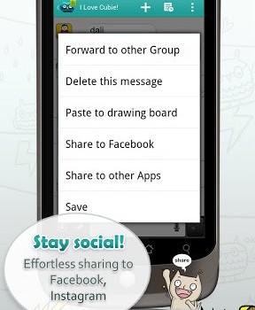 Cubie Messenger Ekran Görüntüleri - 4