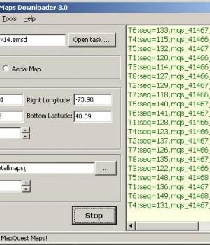 Easy MapQuest Maps Downloader Ekran Görüntüleri - 1