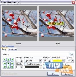 FotoBatch Ekran Görüntüleri - 5