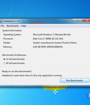 Geekbench Ekran Görüntüleri - 1