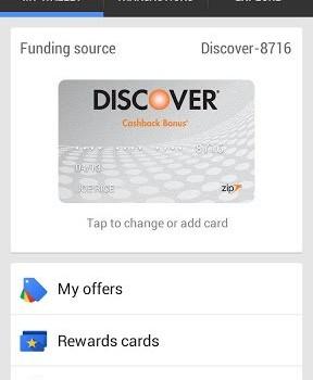 Google Wallet Ekran Görüntüleri - 2