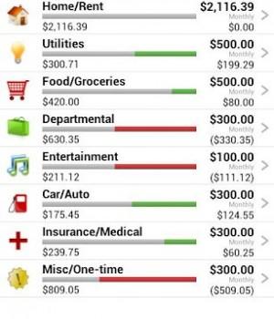 Home Budget Ekran Görüntüleri - 2