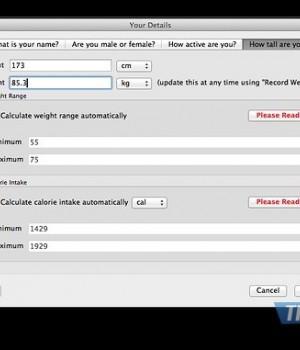 JXCirrus CalCount Ekran Görüntüleri - 1
