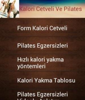 Kalori Cetveli Ve Pilates Ekran Görüntüleri - 5