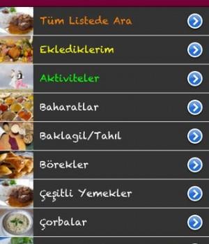 KaloriMatik Ekran Görüntüleri - 3