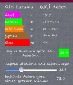 KaloriMatik Ekran Görüntüleri - 1