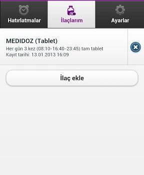 Medidoz İlaç Hatırlatıcı Ekran Görüntüleri - 3