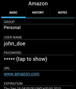 PasswdSafe Ekran Görüntüleri - 3