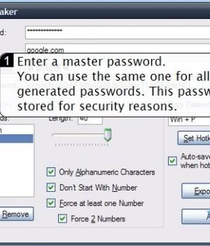 PasswordMaker Ekran Görüntüleri - 3