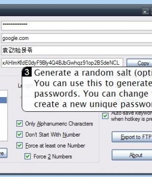 PasswordMaker Ekran Görüntüleri - 1