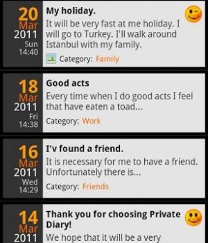 Private DIARY Ekran Görüntüleri - 7