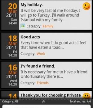 Private DIARY Ekran Görüntüleri - 5