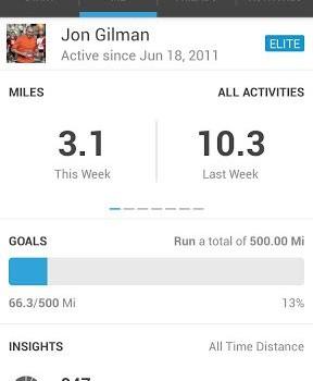 RunKeeper - GPS Track Run Walk Ekran Görüntüleri - 5