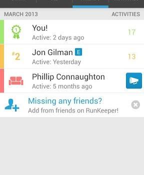 RunKeeper - GPS Track Run Walk Ekran Görüntüleri - 2