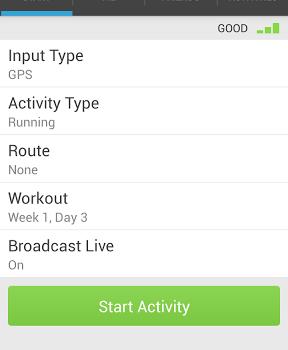 RunKeeper - GPS Track Run Walk Ekran Görüntüleri - 1