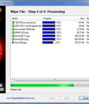 Secure Data Eraser Ekran Görüntüleri - 3