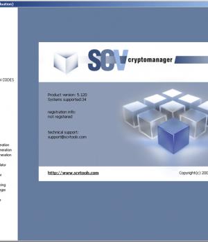 SCV Cryptomanager Ekran Görüntüleri - 5