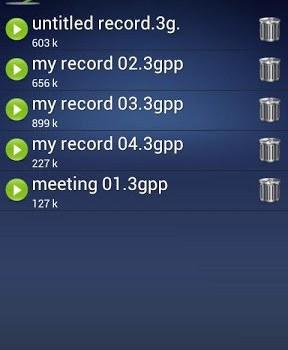 Ses Kaydedici Ekran Görüntüleri - 2