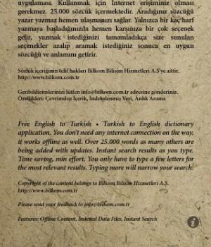 Sözlük Ekran Görüntüleri - 2