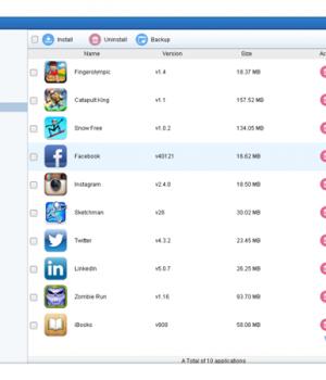 Syncios iPod Transfer Ekran Görüntüleri - 2