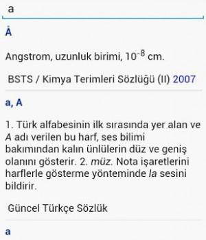TDK Büyük Türkçe Sözlük Ekran Görüntüleri - 2