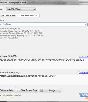 VSCryptoHash Ekran Görüntüleri - 1