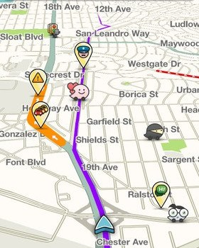 Waze Social GPS Traffic & Gas Ekran Görüntüleri - 8