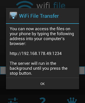 WiFi File Transfer Ekran Görüntüleri - 2