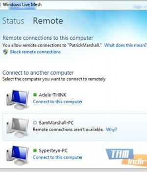 Windows Live Mesh Ekran Görüntüleri - 1