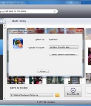 Wireless Transfer App for Windows Ekran Görüntüleri - 1
