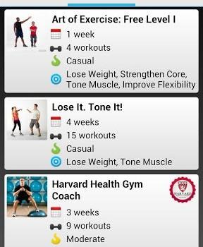 Workout Trainer Ekran Görüntüleri - 5