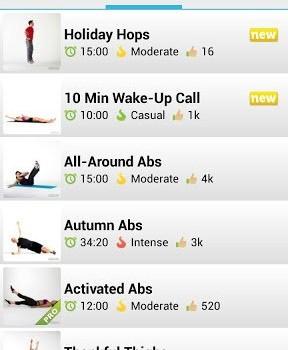 Workout Trainer Ekran Görüntüleri - 1