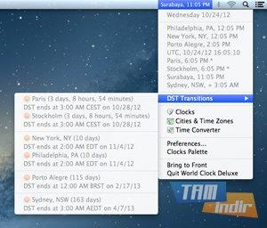 World Clock Deluxe Ekran Görüntüleri - 2
