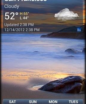 Yahoo! Hava Durumu Ekran Görüntüleri - 4