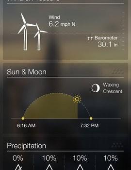 Yahoo! Weather Ekran Görüntüleri - 3