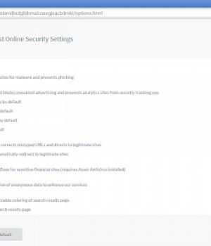 Avast Online Security Ekran Görüntüleri - 1
